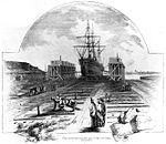 Philadelphia Naval Shipyard sectional dock 1853.jpg