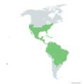 Phoradendron distribution.png