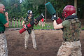 Photo Gallery, Marine recruits practice bayonet techniques during pugil stick training 130729-M-PG802-012.jpg