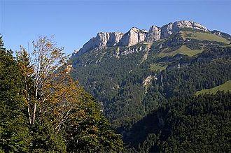 Schwende District - Mountains above Wasserauen