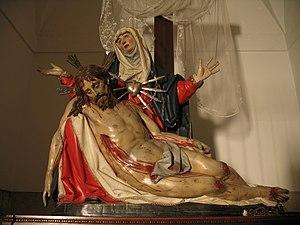 Pietà (Gregorio Fernández) - Image: Piedad. Monasterio de Santa Clara