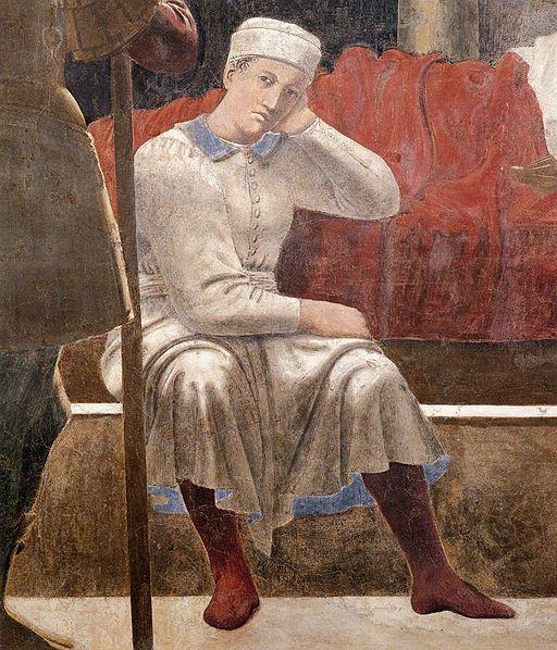 Piero della Francesca - 4. Vision of Constantine (detail) - WGA17511
