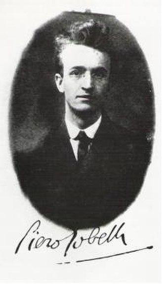 Piero Gobetti - Piero Gobetti c. 1920.