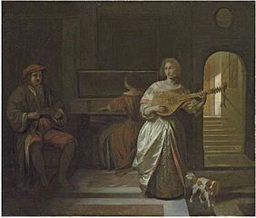 Une société musicale de trois figures