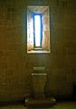 Pieve di Corsignano-Baptismal Font.jpg
