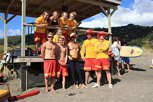 Piha Rescue - Piha Lifeguards. 2009