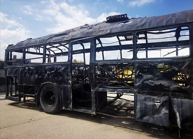 אוטובוס הדמים במוזיאון אגד