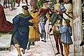 Pinturicchio, liberia piccolomini, 1502-07 circa, Enea Silvio incoronato poeta dall'imperatore Federico III 07.JPG
