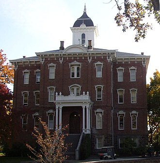 Pioneer Hall (Oregon) - Pioneer Hall at Linfield College