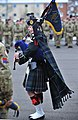 Piper Richard Caffrey of 19th Regiment Royal Artillery at a parade to mark its change of name.jpg