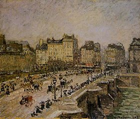 The Pont-Neuf, Effect of Snow (Second Series)