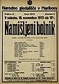 Plakat za predstavo Namišljeni bolnik v Narodnem gledališču v Mariboru 18. novembra 1922.jpg