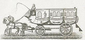 Bus - A Paris omnibus in 1828