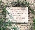Plaque à Max-Pol Fouchet à Vézelay (août 2017).jpg