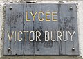 Plaque lycée Victor Duruy.jpg