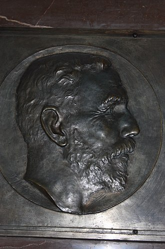 William Ramsay - Plaque to Sir William Ramsay, Hunterian Museum, Glasgow