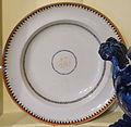 Plate, China, c. 1795, earthenware - Concord Museum - Concord, MA - DSC05761.JPG