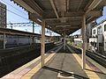 Platform of Akama Station 2.jpg
