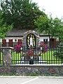 Podlaskie - Grodek - Grodek - church of HHotLJ - BVM shrine.JPG
