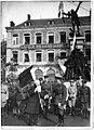 Poignée de main au Général Mathison, commandant la Garde canadienne, entrée la première à Maubeuge - Maubeuge - Médiathèque de l'architecture et du patrimoine - APTH002487.jpg
