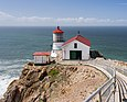 Point Reyes Lighthouse (2012), hier ohne Nebel