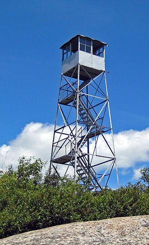 Poke-O-Moonshine Mountain - Image: Poke O Moonshine Mountain fire tower