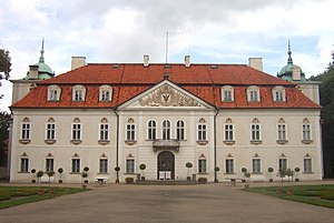 1690s in architecture - Image: Poland Nieborów Palace 007