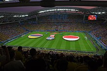 Poland Vs Colombia Match During  Fifa World Cup