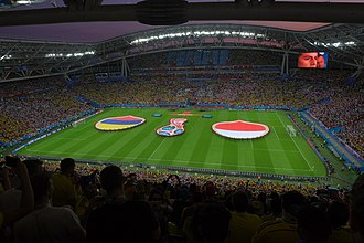 Kazan Arena - Poland vs Colombia match during 2018 FIFA World Cup