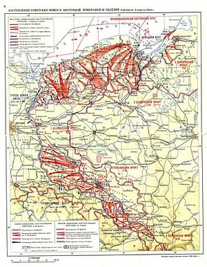 East Pomeranian Offensive - Pomeranian and Silesian offensives
