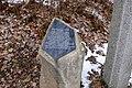 Pomník připomínající zaniklý kostel sv. Martina v zaniklé obci Činov.jpg