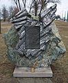 Pomnik katastrofy Pe-2 w Poznaniu - pomnik.JPG