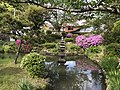 Pond in Sorei Shrine in Tsuwano, Kanoashi, Shimane.jpg