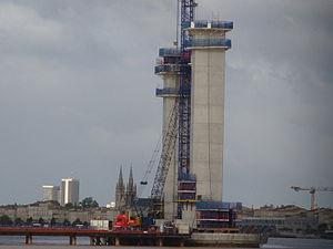 Pont Bacalan Bastide en construction (Juillet 2011)