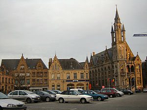 Poperinge - Image: Poperinge City Hall 2