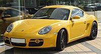Porsche Cayman S front 20100724.jpg