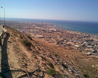 Derna campaign (2014–16) - Image: Port of Derna