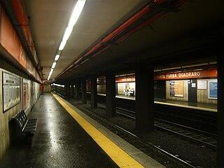 Porta Furba - Quadraro (Rome Metro) Rome metro station