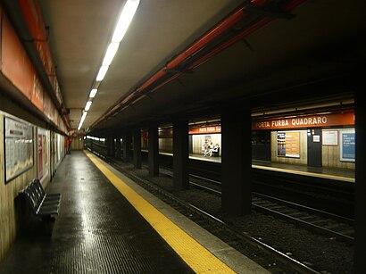 Come arrivare a Porta Furba  - Quadraro con i mezzi pubblici - Informazioni sul luogo