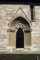 Portal sur do coro da igrexa de Lau.jpg