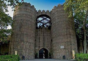 Poble Espanyol - Porta d'Àvila