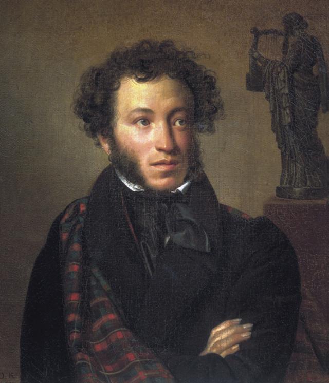 Александр Пушкин портрет работы О А Кипренского