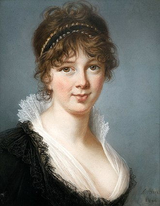 Spencer Perceval - Portrait of Mrs. Spencer Perceval, by Elisabeth-Louise Vigée Le Brun, 1804