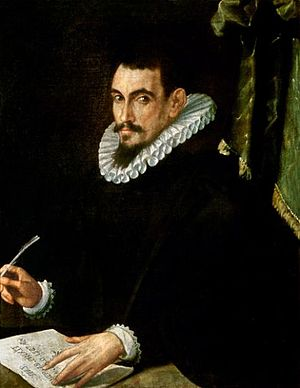 Giacomo Castelvetro - Oil painting of Castelvetro by Ercole dell'Abbate, 1587