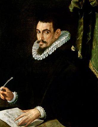 Giacomo Castelvetro - Oil painting of Castelvetro by Ercole dell'Abbate, 1587