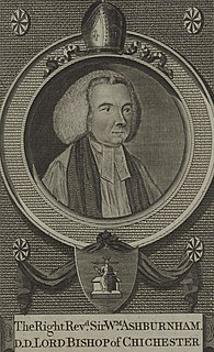 Sir William Ashburnham, 4th Baronet British bishop