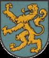 Powiat Dobromilski coat of arms (Kawa Hag).png