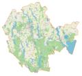 Powiat mrągowski location map.png