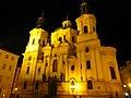 Prag - Prag – Nikolauskirche am Altstädter Ring - Chrám Svatého Mikuláše Staroměstské náměstí - panoramio.jpg