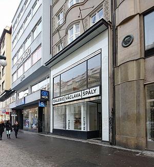 František Zelenka - Image: Praha Galerie Vaclava Spaly 2